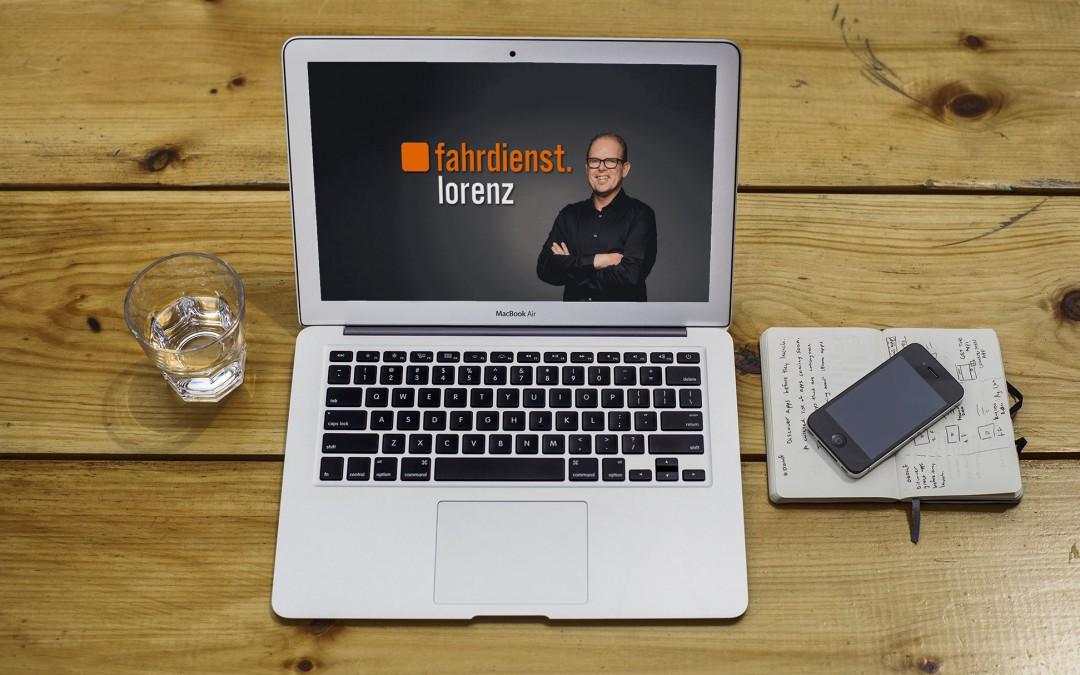 fahrdienst.lorenz mit neuer Website online